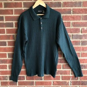 2 for $20 | Claiborne | Collared Ribbed Sweater